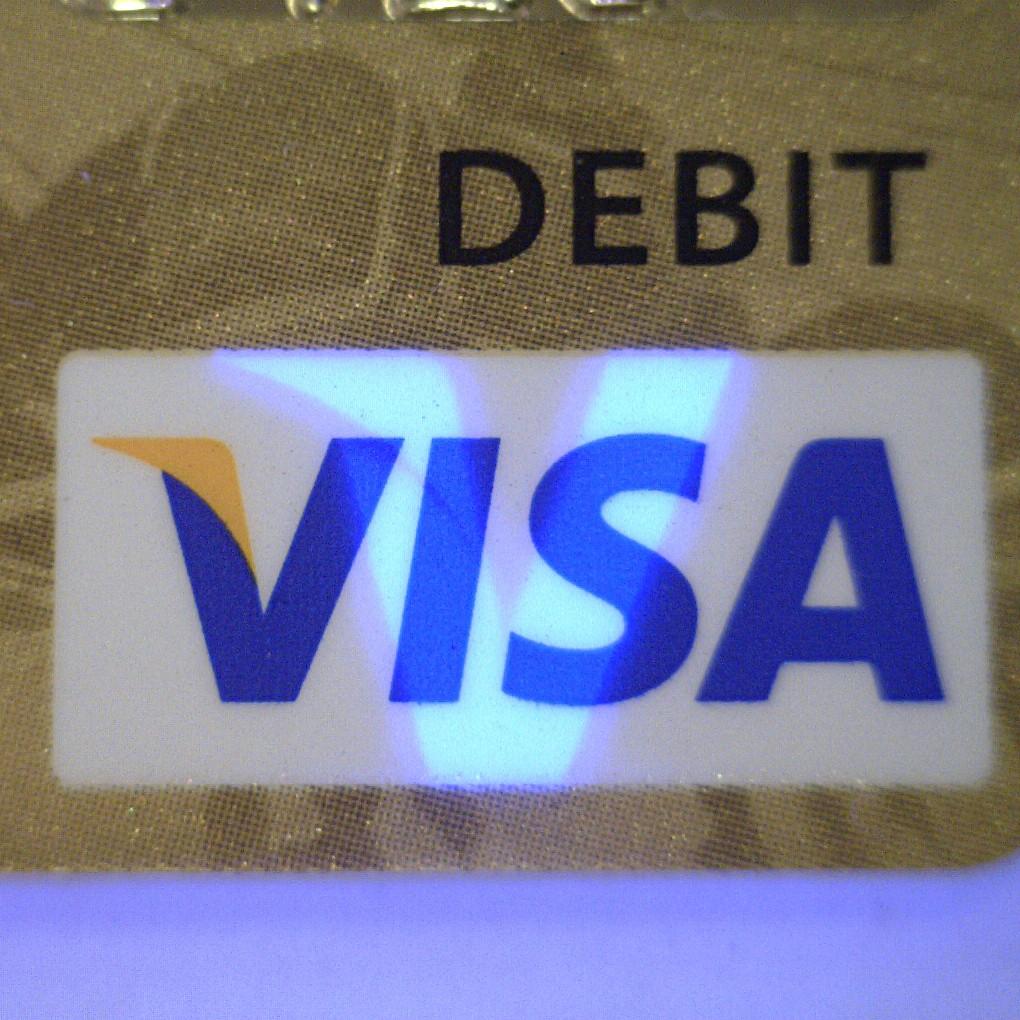 Dino-Lite används bland annat för att detektera säkerhetsdetaljer, så som VISA-logotypen i ett kreditkort.